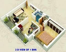 600 sq ft 600 sq ft 1 bhk floor plan image shree ashtavinayak gayatri park