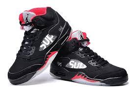 kid jordans kids shoes supreme x air 5 bred for sale