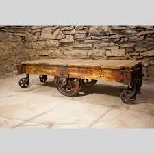 restored 1940s lineberry factory cart coffee table scott u0027s