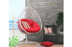 Lounge Swing Chair Baner Garden Oval Egg Hanging Patio Swing Chair U0026 Reviews Wayfair
