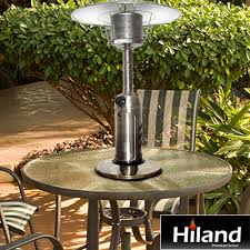 Table Top Patio Heaters Propane Buy The Exclusive Hiland Premium Series Heaters Only At