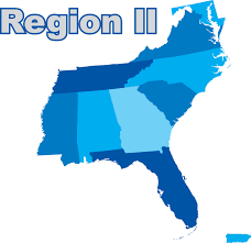 Map Of Florida And Alabama by Region Ii Southeast Registry Of Interpreters For The Deaf