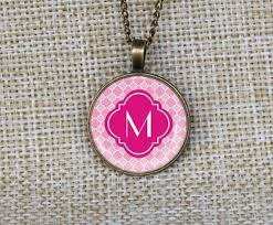 Single Initial Monogram Necklace The 144 Best Images About Jewelry On Pinterest Monogram Necklace