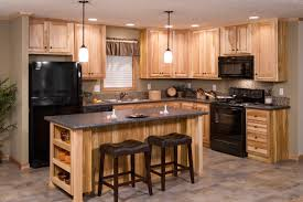 redman model home with hickory cabinets brooks village green homes
