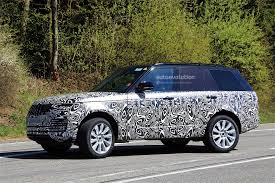 suv range rover interior 2018 range rover facelift spied with updated interior autoevolution