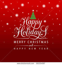 happy holidays card stock images royalty free images vectors