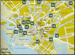 map of karachi karachi all in one karachi map