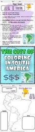 Map Of South American Countries 88 Best South America Unit Study Images On Pinterest South