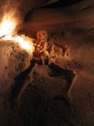 halloween pictures of skeletons the crystal maiden of the actun tunichil muknal cave u2013 belize