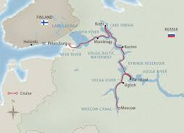map of europe and russia rivers waterways of the tsars 2018 moscow st petersburg cruise