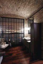 masculine bathroom ideas 20 masculine bathroom ideas with exposed brick walls home design