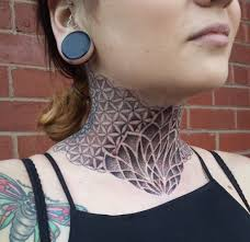 1000 ideas about mandala neck tattoo on pinterest intended for