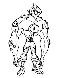 nonsensical ben 10 coloring pages games ben ten coloring page 320