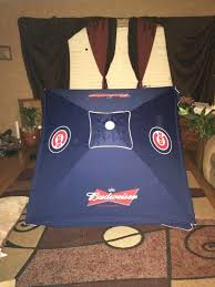 Budweiser Patio Umbrella Chicago Cubs Budweiser Sign Patio Umbrella Collectibles In