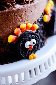 thanksgiving oreo cake something swanky