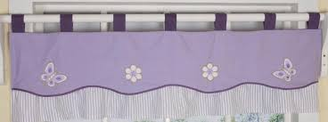 Purple Window Valances Geenny Lavender Butterfly Window Valance Baby Baby Decor