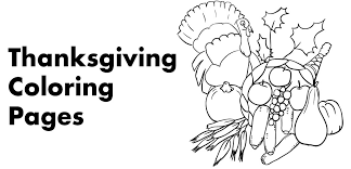 thanksgiving coloring pages printables hubpages