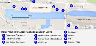 hotels near city airport london u0026 excel exhibition centre