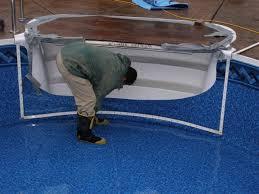 wedding cake pool steps vinyl liner pool renovation colley s
