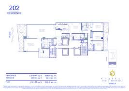 chateau ocean condos the arquitectonica project chateau ocean floor plans chateau ocean residence 201 chateau ocean residence 202