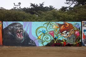 n8 van dyke and sam flores street art mural at 2013 outside lands n8 van dyke and sam flores street art mural at 2013 outside lands festival in san