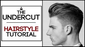 undercut hairstyle tutorial guide to classic and disconnected