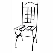 chaises en fer forgé chaise provence fer forgé