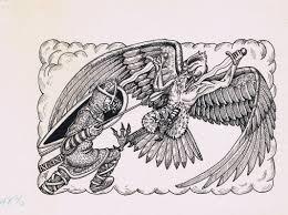 vintage dungeons dragons illustration laura roslof jeff