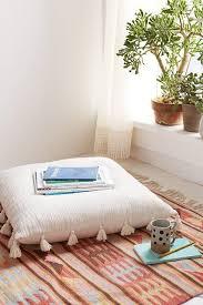 kitchen floor cushion seating ideas fine on kitchen regarding