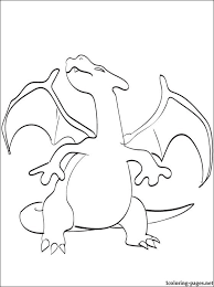 charizard coloring pokemon legendary coloring pages