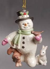 lenox annual snowman ornament at replacements ltd
