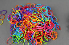 hair rubber bands multi color pack 500 small tiny mini hair ties elastics rubber