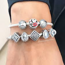 sterling pandora style bracelet images The new sterling silver mesh bracelet can be worn with or without jpg