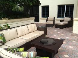 Patio Furniture With Gas Fire Pit by Patio Furniture Set With Gas Fire Pit Table Traditional