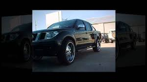 nissan frontier lowered f1 wheel u0026 tyre nissan navara rolling on 24 inch esinem youtube