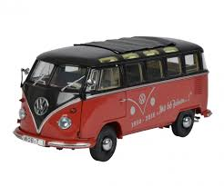 vw t1 66 jahre 1 18 edition 1 18 box van models schuco