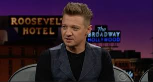 syfy jeremy renner teases hawkeye u0027s snazzy new avengers 4 look