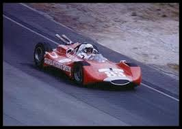 dave macdonald in mickey thompson u0027s radical indy car that crashed