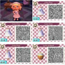 acnl qr code hair collections of different hairstyles in animal crossing new leaf