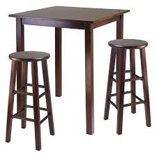 square pub table with storage have to have it winsome parkland 3 piece square pub table set