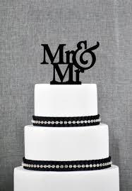 mr and mr cake topper mr mr cake topper from thatgaysite wedding