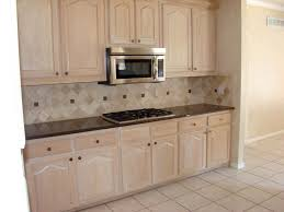 Kitchen Refacing Cabinets Kitchen Refacing Cabinets In Beige With Oven Cabinet Also Tile