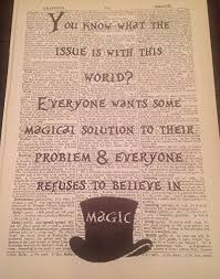 mad hatter alice wonderland bonkers quote print vintage