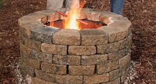 How To Build A Cheap Patio How To Build Your Own Fire Pit 6 Steps With Pictures