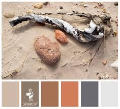 beach life sand stone terracotta brown beige grey blue