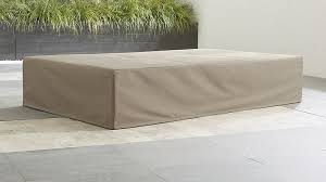 Chaise Lounge Cover Dune Outdoor Double Chaise Cover Crate And Barrel