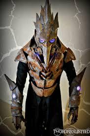 the iron beak led teslapunk plague doctor costume by