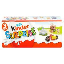 kinder suprise egg kinder eggs 3 per pack from ocado