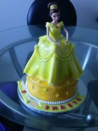 princess belle cake cakeodeco
