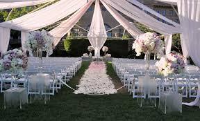 wedding decor rental wedding decor rentals glamorous draping wedding ceremony 28